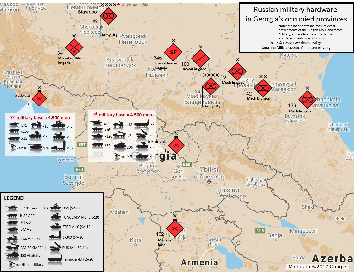 Analysis russia troop deployments menace georgia world affairs their force structure and composition goes against their purported objective of guarding against potential georgian aggression these forces are capable of gumiabroncs Images